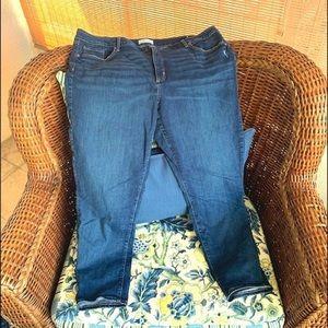 Loft Super Soft Skinny Jeans - 18 - HTF!